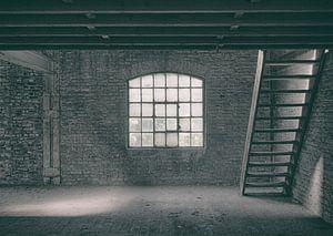 Verlaten plekken: Sphinx fabriek Maastricht zolder.