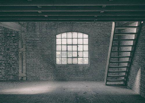 Verlaten plekken: Sphinx fabriek Maastricht zolder. sur Olaf Kramer