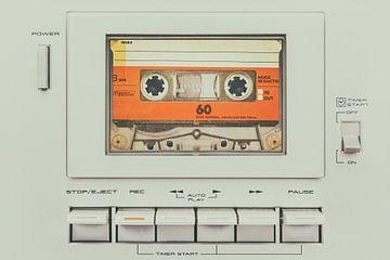 De Vintage Cassetterecorder van Martin Bergsma