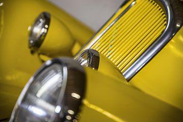 Gele koplampen von Wim Goedhart