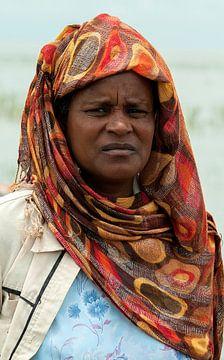 Ethiopië: Ethiopische vrouw (Ziway) van Maarten Verhees
