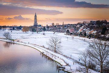 Schaatspret en sneeuw, een magische combinatie van Sander Peters Fotografie