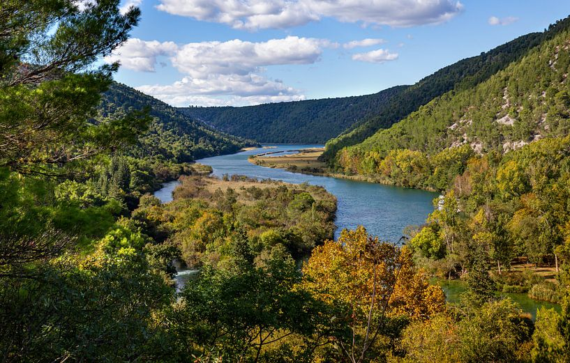Krka Nationaal Park, Kroatië van Adelheid Smitt