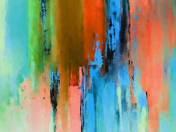Abstracte samenstelling 833 van Angel Estevez