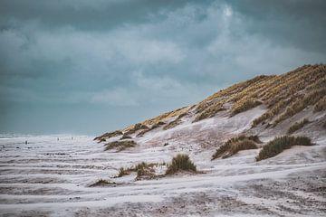 Strand Ameland van S van Wezep