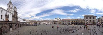 San-Francisco-Platz in Quito, Eduador von Iris Timmerman