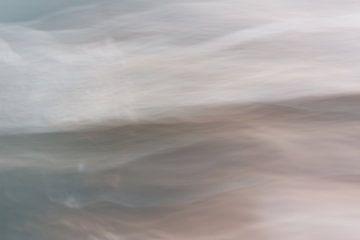 Aan de kust | Abstract landschap van Henriëtte Mosselman