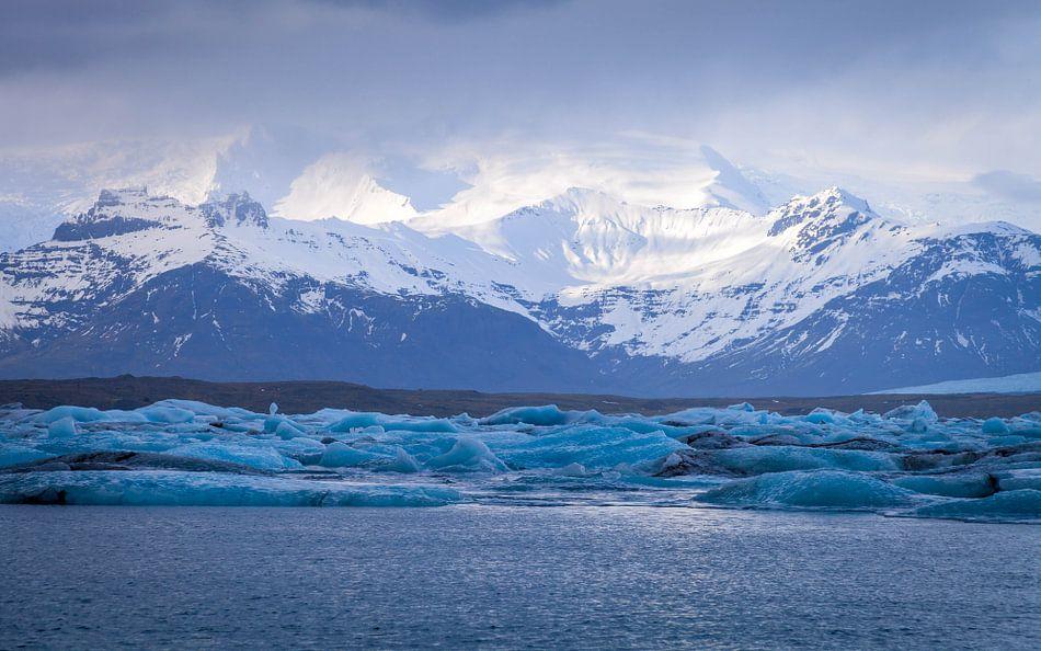 IJsland Water Bergen Gletsjer