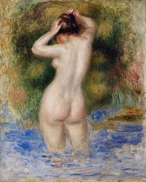 Badende Frau, nackt, Pierre-Auguste Renoir - 1890 von Atelier Liesjes