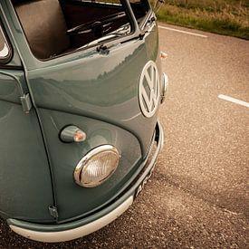 Classique T1 (type 2) Volkswagen van (1959) sur Wim Slootweg