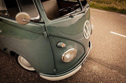 Klassieke T1 (type 2) bestelbus van Volkswagen (1959) van