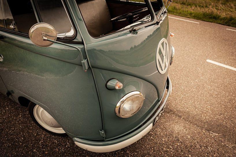 Klassischer T1 (Typ 2) Volkswagen Transporter (1959) von Wim Slootweg