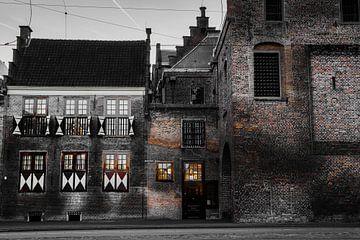 Das Gefängnis-Tor in Den Haag von Bart Rondeel