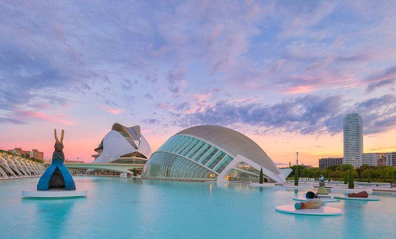 Stad van de Kunsten en Wetenschap - Valencia, Spanje van Bas Meelker