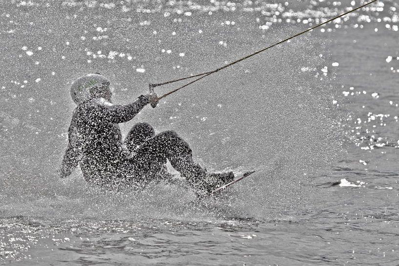 Wakeboarding in HDR van Marc Heiligenstein