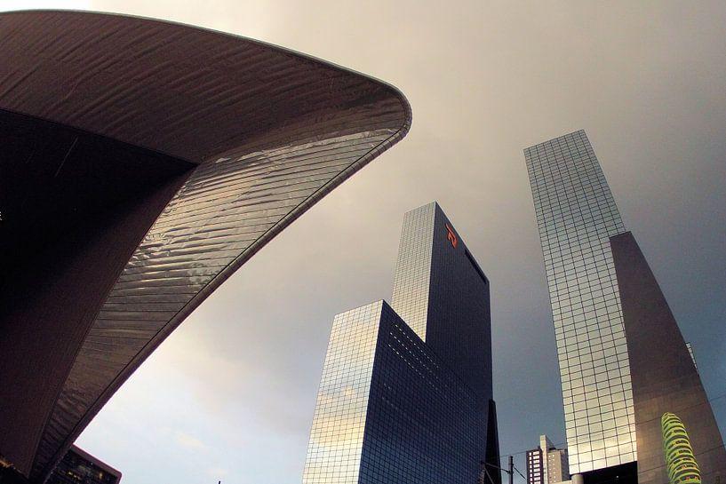 Centraal Station Rotterdam - Overkapping van Albert van Dijk