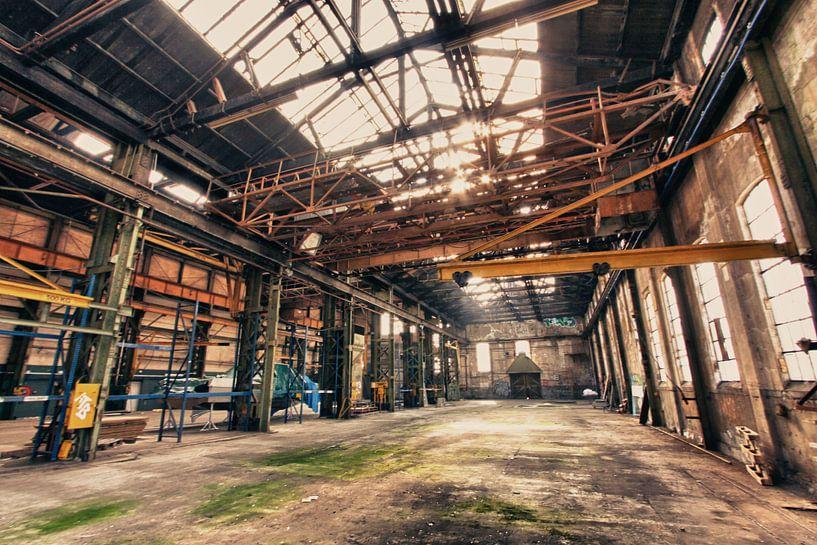 Vervallen Fabriek von Creacas