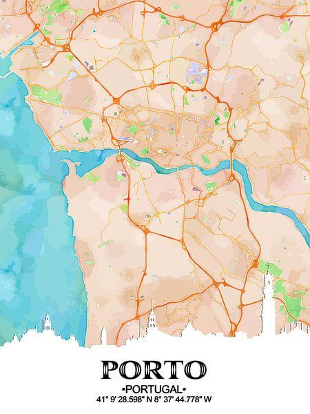 Porto van Printed Artings