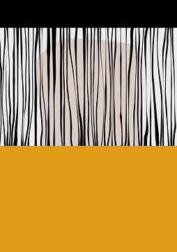 Abstracte samenstelling 899 van Angel Estevez