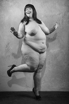 Sehr schöne, sexy und fröhliche nackte Frau. #D8827 von william langeveld