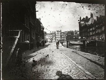 Gezicht op de Looiersgracht in Amsterdam, George Hendrik Breitner