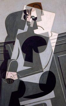 Juan Gris. Portrait de Madame Josette Gris