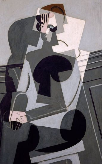 Juan Gris. Portrait de Madame Josette Gris van 1000 Schilderijen