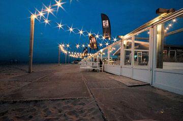 Avond op het strand van Erik Reijnders