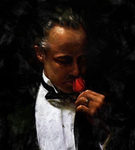 Godfather - The Offer - Marlon Brando von Kunst Company