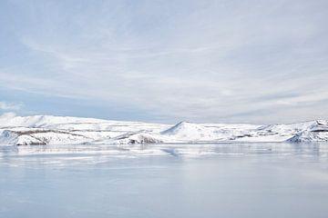 IJslands spiegelbeeld van Esther Bakker-van Aalderen