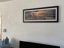 Kundenfoto: die Küste im Bild von eric van der eijk, als gerahmtes poster