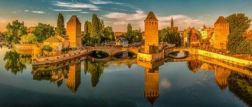 Ponts Couverts  - Straßburg von Sabine Wagner