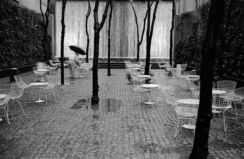 New York -  Rain man van Raoul Suermondt