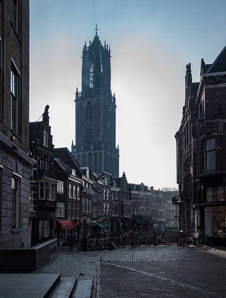 Utrecht in ochtendlicht 3 van Patrick Verheij