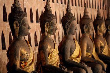 Boeddha standbeelden van Gert-Jan Siesling