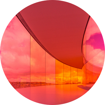 ARoS Aarhus Kunstmuseum, Your rainbow panorama van Bart Sallé