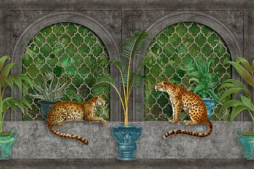 Leoparden Im Tropenpalast von Andrea Haase