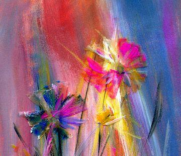 Blume im Licht von Claudia Gründler