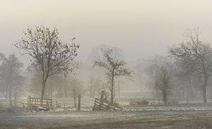 Fries landschap van Teo Goudriaan