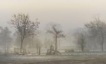 Fries landschap sur Teo Goudriaan