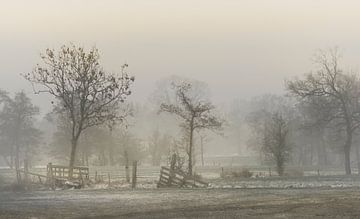 Fries landschap von Teo Goudriaan