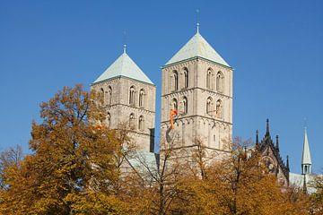Münster in Westfalen : St.Paulus-Dom, Domplatz I kerk St.Paulus-Dom, M�nster in Westfalen , Noordrij van Torsten Krüger
