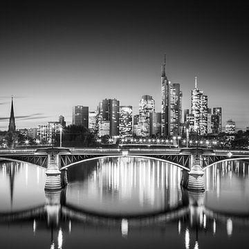 Frankfurter Skyline von Florian Schmidt