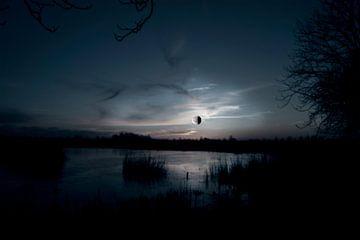 Maansverduistering van Alied Kreijkes-van De Belt