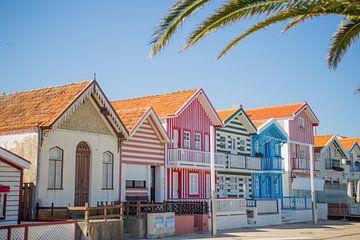 Snoep huizen in Portugal van Omri Raviv