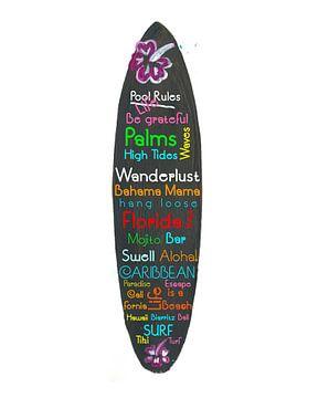 Surfboard-Philosophie - Genießen Sie das Leben, Reisen und Surfen - V von Markus Bleichner