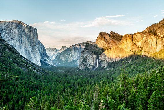 Yosemite National Park van Leon van der Velden