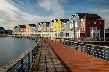 Des maisons colorées au Rietplas Houten sur Ruud Engels