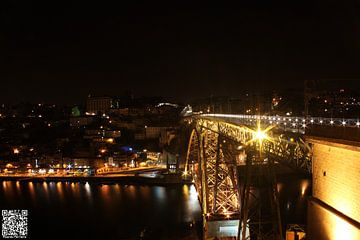 Gaia City - Dom Luis Bridge van Ricardo Ferreira