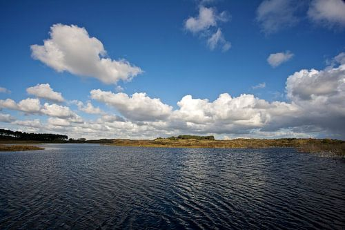 Hollandse wolkenlucht 3 van Ties van Veelen